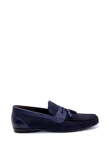 Derimod Erkek Loafer(267-3) Casual Lacivert